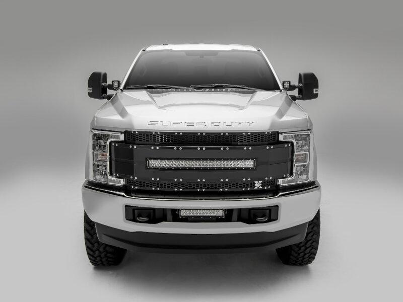 2016 Ford F250 >> 2017-2019 F250 & F350 ZROADZ Hood Hinges LED Light Pod Mounts ZR-Z365471