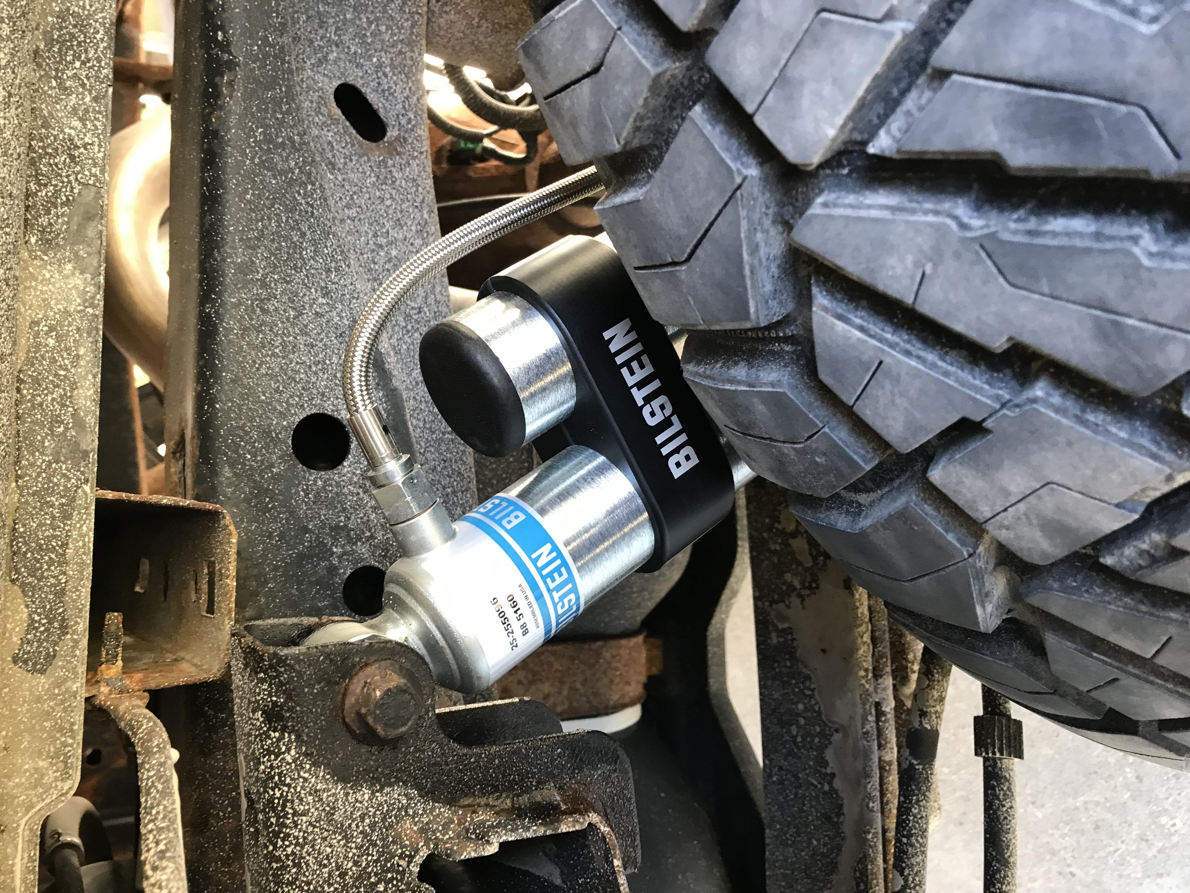 Blue Hose /& Stainless Banjos Pro Braking PBK1082-BLU-SIL Front//Rear Braided Brake Line