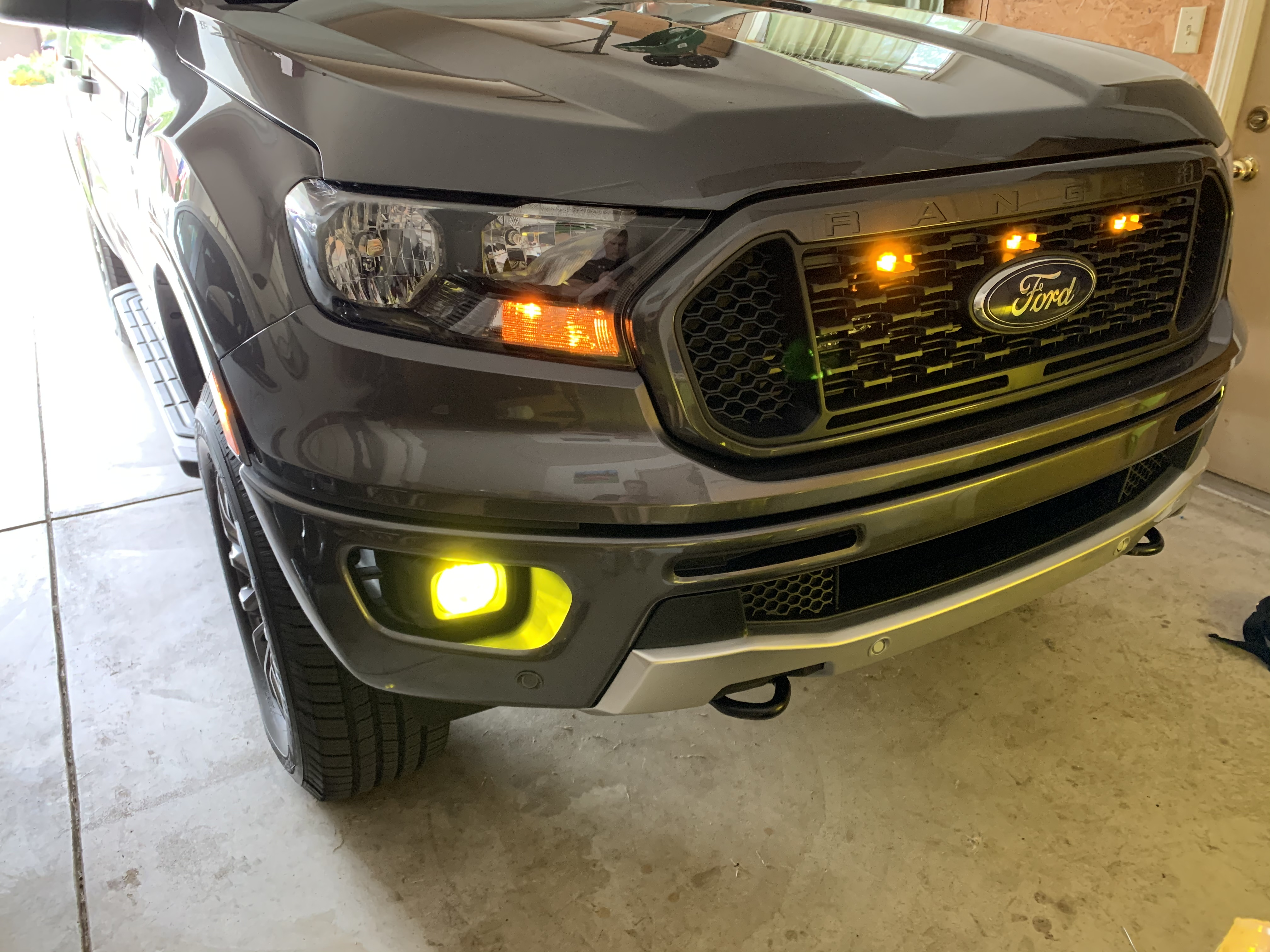 2019-2020 Ford Ranger Diode Dynamics H11 SLF Yellow LED ...