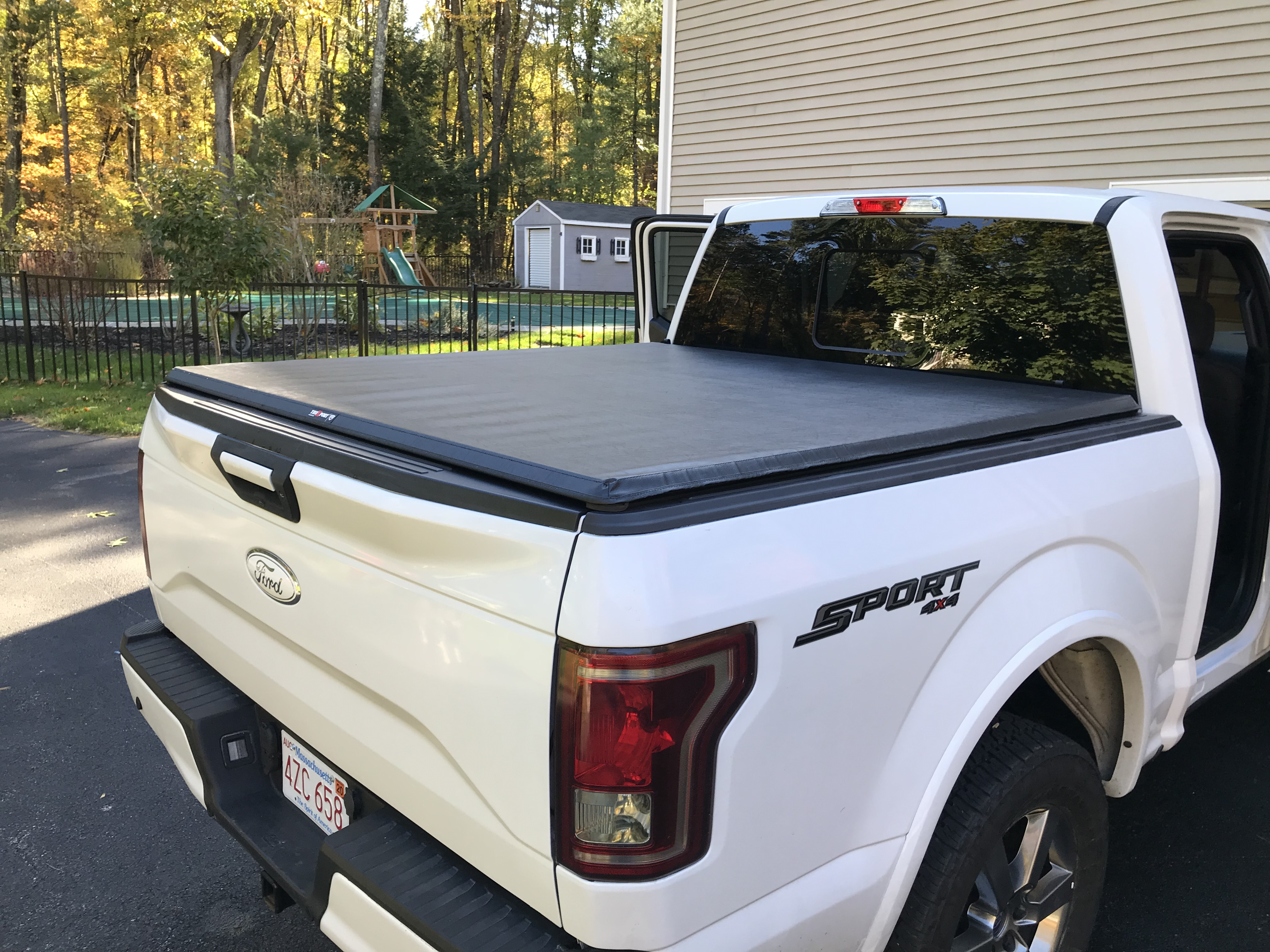 15 21 F150 Raptor 5 5ft Bed Truxedo Truxport Bed Cover 297701