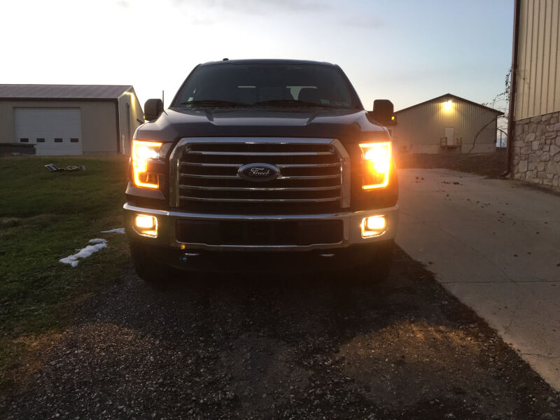 2015 2017 F150 Anzo Led Switchback Outline Projector Headlights Wiring Driving Lights With High Beams F150online Forums