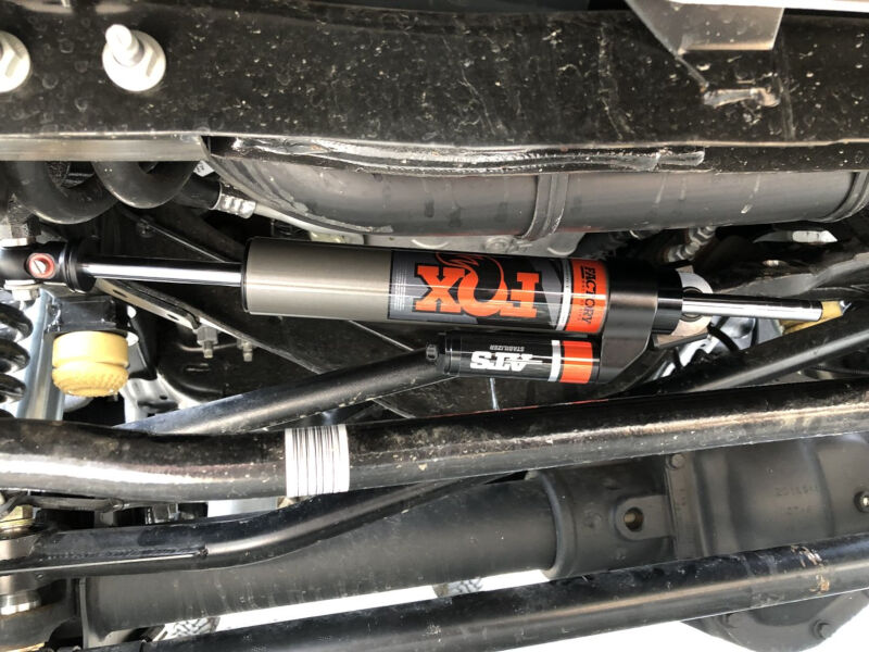 2017-2019 F250 & F350 4WD Fox ATS Steering Stabilizer (Stock Replacement)