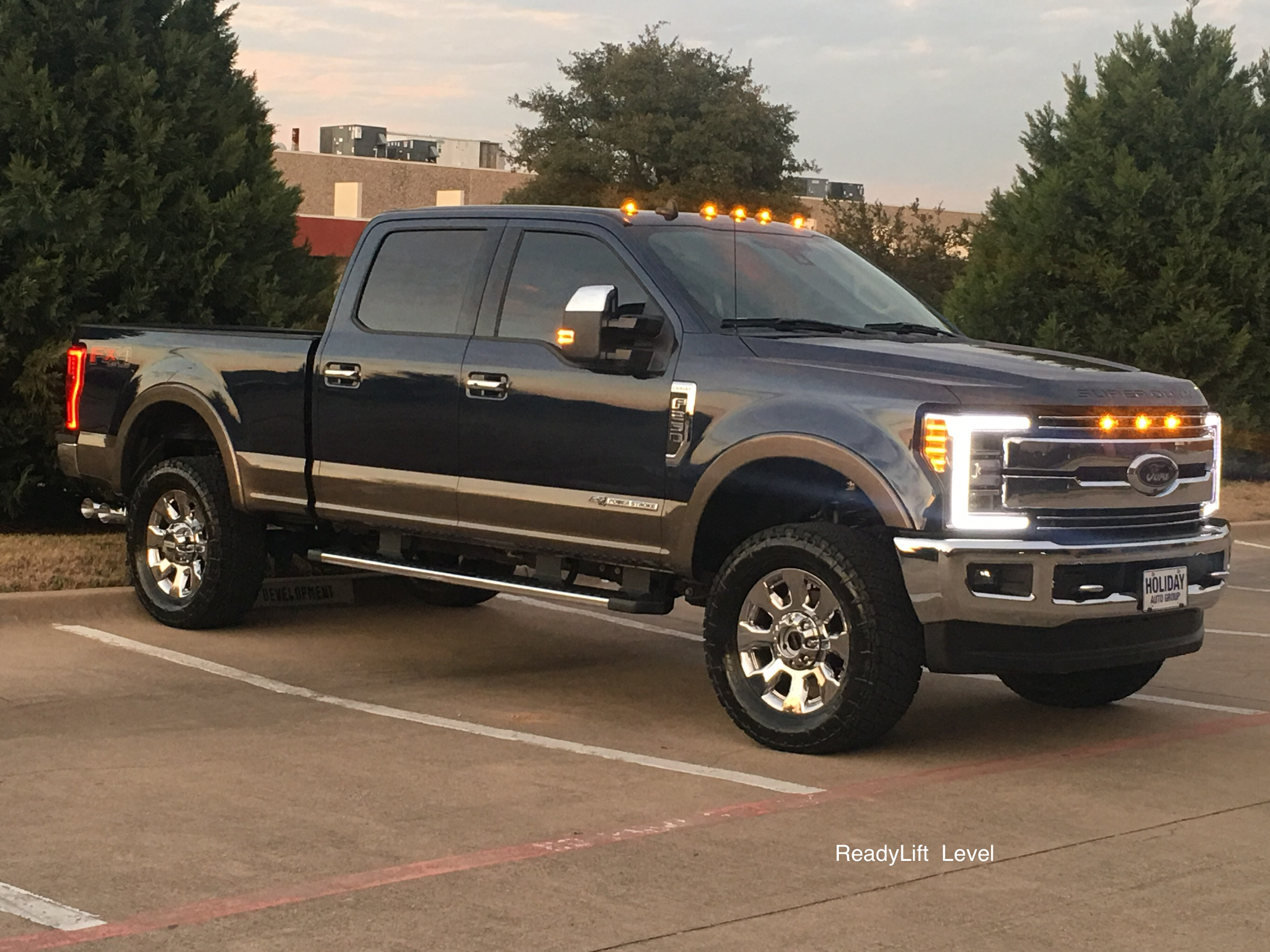 2017 F250 Leveling Kit >> 2011 2019 F250 F350 4wd Readylift 2 5 Front Leveling Kit W Track Bar Relocation Bracket
