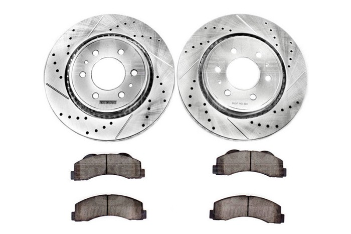 2009 F150 Power Stop Z36 Front Towing Brake Kit