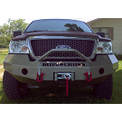2004-2008 F150 Iron Cross Replacement Front Bumper - Push Bar Model (Winch Ready) 03