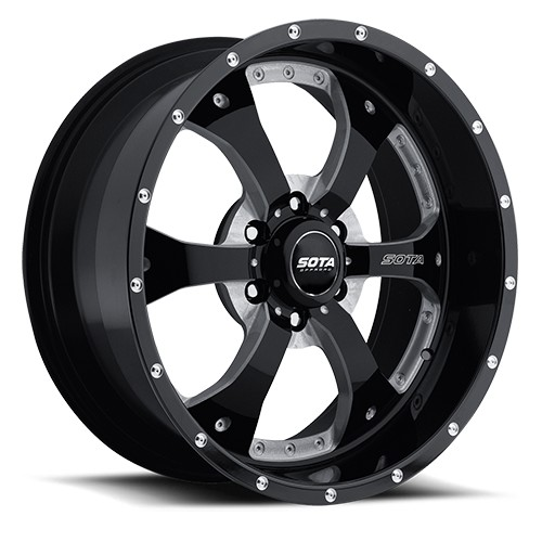 "2004-2018 F150 SOTA 18x9"" Novakane Wheel (Death Metal)"