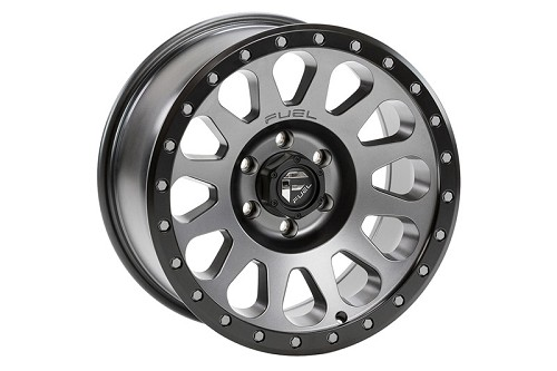 "2004-2018 F150 Fuel Vector 18x9"" D601 Wheel (6x135mm/01mm Offset) Anthracite w/ Black Lip"