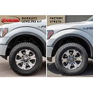 09-13 F150 4WD Rancho quickLIFT Driver's Side Leveling Kit 04