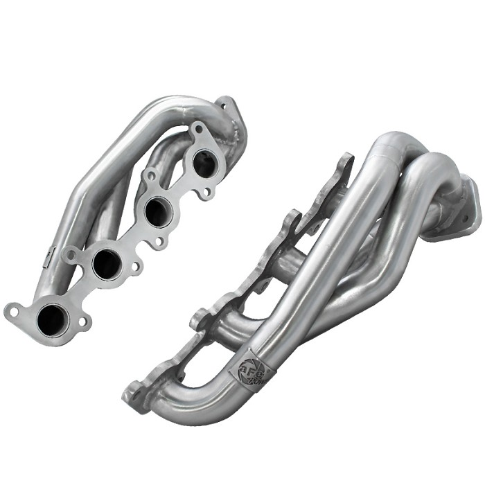 2011-2014 F150 5.0L aFe Twisted Steel Shorty Headers (Stainless)