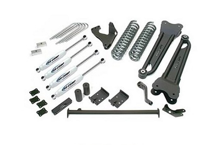 2005-2007 F250 & F350 4WD Pro Comp 6'' Stage II Radius Arm Lift Kit