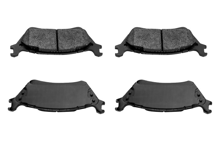 2012-2017 F150 & Raptor FactionFab F-Spec Rear Brake Pads (Manual Parking Brake Only)