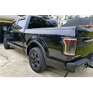 2015-2017 F150 ANZO Gen 2 Black LED Outline Taillights 16