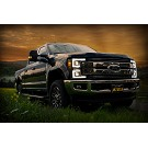 2017-2019 F250 & F350 ANZO LED Switchback Outline Projector Headlights (Black Housings) 22