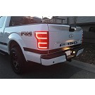 2018-2019 F150 ANZO DRL Outline LED Taillights (Black Housings) 08