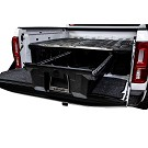 19-21 Ranger DECKED Truck Bed Organizer (5ft Bed) 02