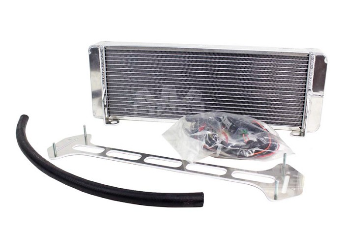 1999-2004 SVT Lightning AFCO Pro Series Heat Exchanger with Fans