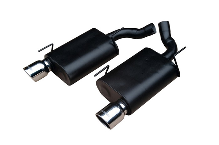 2005-2010 Mustang GT Flowmaster American Thunder 60 Series Axle-back Exhaust System (Stainless Steel)