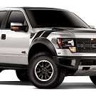 2010-2014 F150 Raptor Le Mans Style Hash Mark Kit (Right) 01