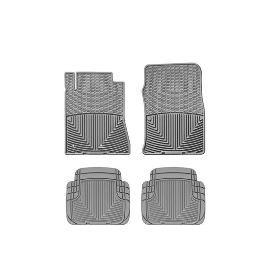 10-14 Mustang WeatherTech All-Weather Full Floor Mats (Grey)