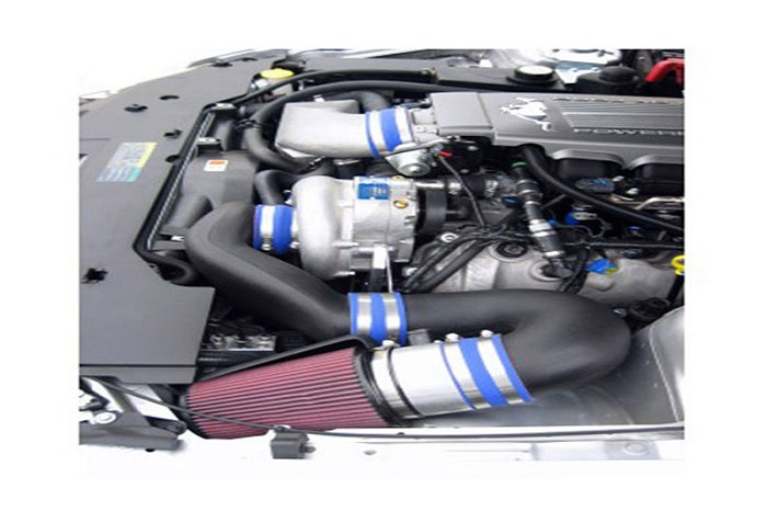 2010 Mustang GT 4.6L Vortech V-3 Si H.O. Supercharger w/ Charge Cooler (Satin)