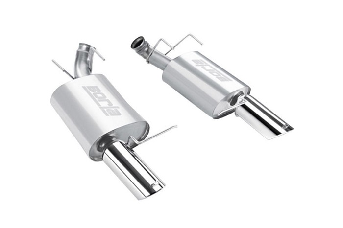 2011-2012 Mustang GT / Boss 302 Borla ATAK Axle-Back Exhaust System