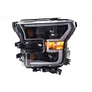 15-17 F150 ANZO Black Switchback Outline Headlights 19