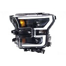 15-17 F150 ANZO Black Switchback Outline Headlights 20
