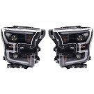 15-17 F150 ANZO Black Switchback Outline Headlights 09