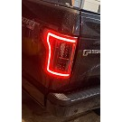 2015-2017 F150 ANZO Gen 2 Black LED Outline Taillights 24