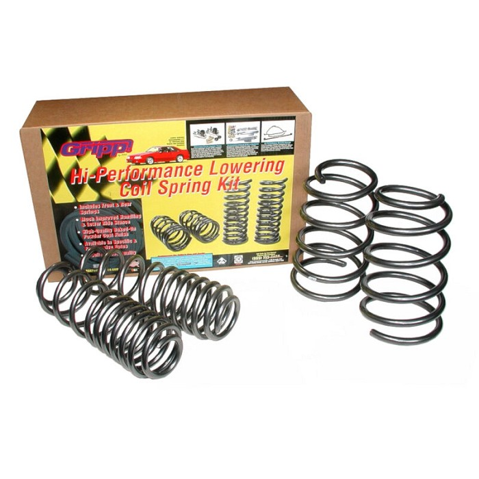 05-12 Mustang GT BBK Progressive Rate Lowering Springs