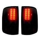 04-08 F150 Recon Smoked Red LED Tail Lights 01