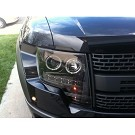 09-14 F150 & Raptor Recon Smoked CCFL Halo Projector Headlights 03