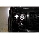 09-14 F150 & Raptor Recon Smoked CCFL Halo Projector Headlights 04