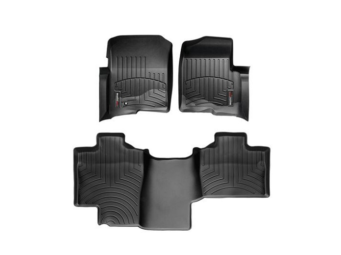 2004-2008 F150 SuperCab WeatherTech Floor Liner Digital Fit (Black)
