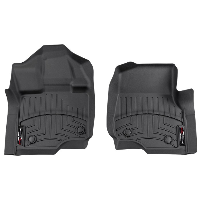 2015-2020 F150 & Raptor WeatherTech DigitalFit Front Floor Mats (Black)