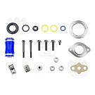 2004-2007 F250 & F350 6.0L aFe Square EGR Cooler with Gaskets 09