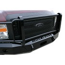 2008-2010 F250 & F350 Iron Cross Winch-Ready Replacement Front Bumper - Full Grille Model 04