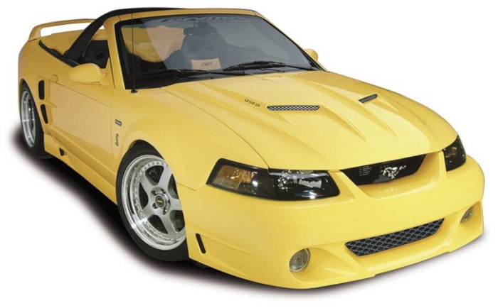 1999-2004 Mustang GT Cervini's Stalker 10-Piece Body Kit