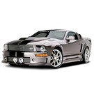 05-09 Mustang Cervini's C-Series Body Kit w/ Side Exhaust Kit 01