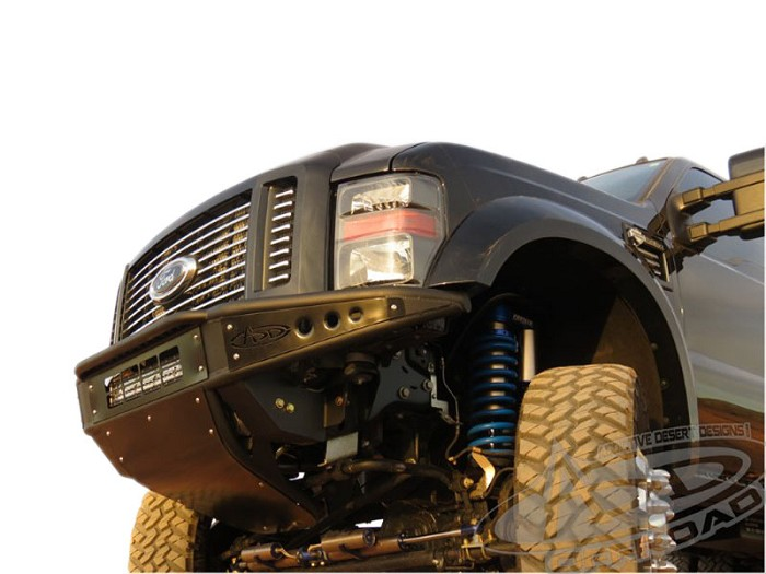 2008-2010 F250 & F350 ADD Venom Stealth Panel Front Bumper (No Winch)