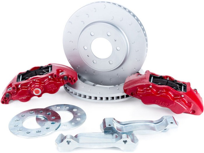 2009-2019 F150 & Raptor Alcon 6-Piston Front Big Brake Kit