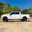 2015-2020 F150 & Raptor AMP Research PowerStep Plug-N-Play Running Boards w/ Light Kit 22