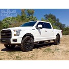 2015-2020 F150 & Raptor AMP Research PowerStep Plug-N-Play Running Boards w/ Light Kit 24