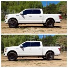 2015-2020 F150 & Raptor AMP Research PowerStep Plug-N-Play Running Boards w/ Light Kit 25