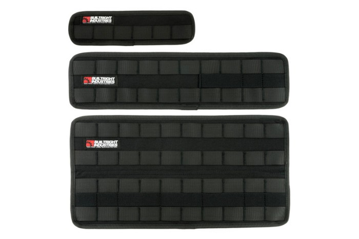 BuiltRight Industries Black 3-Piece Velcro Tech Panel Kit