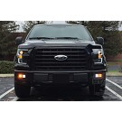 15-17 F150 ANZO Black Switchback Outline Headlights 25