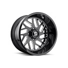 1999-2020 F250 & F350 Fuel Forged FF29 22X10 Wheel - Black & Milled 01