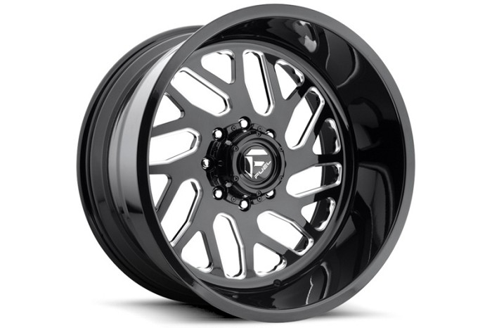 1999-2020 F250 & F350 Fuel Forged FF29 22X10 Wheel - Black & Milled