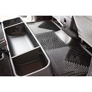 2009-2014 F150 & Raptor SuperCab Husky WeatherBeater Front & Rear Floor Mats (Black) 02
