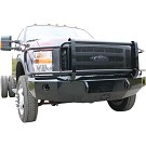 2008-2010 F250 & F350 Iron Cross Winch-Ready Replacement Front Bumper - Full Grille Model 02